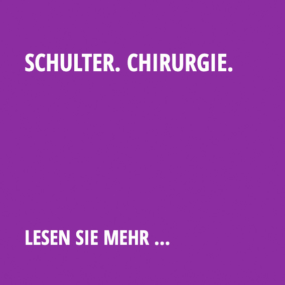 Schulter. Chirurgie.
